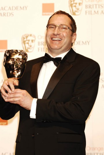 Victor J. Zolfo took the award for The Curious Case Of Benjamin Button (BAFTA/ Richard Kendal).
