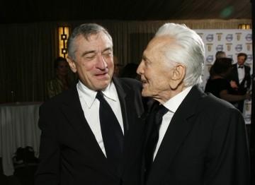 Honorees Robert De Niro and Kirk Douglas