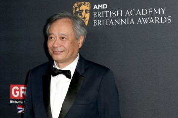 Ang Lee was presented with the John Schlesinger Britannia Award for Excellence in Directing