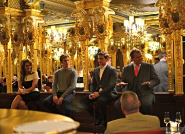 Academy Circle event with the cast of Downton Abbey, Cafe Royal, December 2012