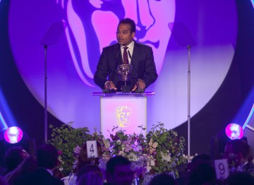 Krishnan Guru-Murthy presents the BAFTA for Director: Factual sponsored by ProductionBase.