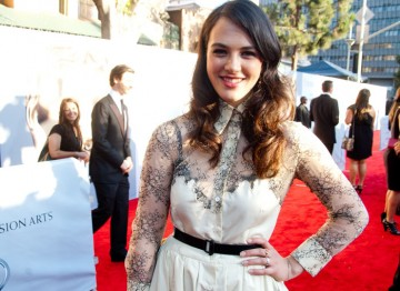 The actress is the star of ITV's hit series Downton Abbey and soon to be seen opposite Julia Ormond and Felicity Jones in comedy drama, Albatross.