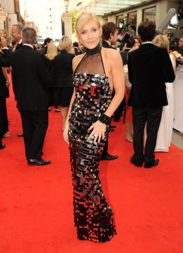 The former EastEnders star arrives. (Pic: BAFTA/Richard Kendal)