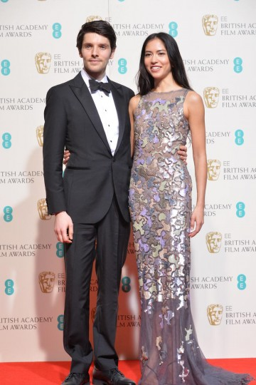 Presenters of the Sound and Editing awards: Colin Morgan and Sonoya Mizuno