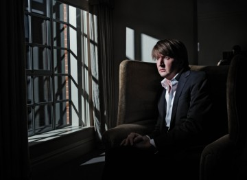 Director Tom Hooper poses for the British Directors photo series for the 2011 Film Awards.