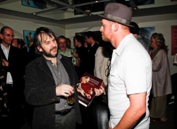 Peter Jackson And Simon Pegg  (BAFTA/Brian J Ritchie).