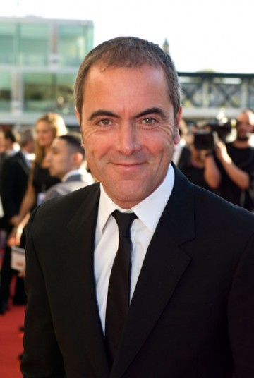 James Nesbitt on the Television Awards red carpet before announcing the winner in the Actress category (BAFTA / Richard Kendal).