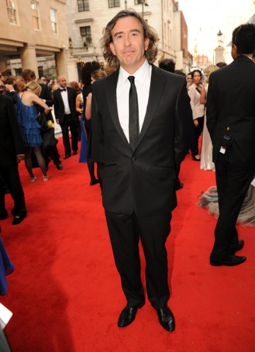 Coogan is nominated for Male Performance in a Comedy Programme for The Trip, and will also present the Drama Series award with Rob Brydon. (Pic: BAFTA/Richard Kendal)