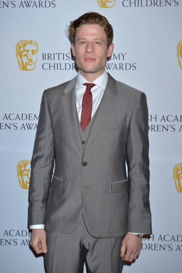 Grantchester star James Norton arrives at the British Academy Children's Awards in 2014