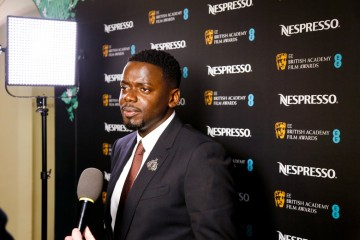 Leading Actor and EE Rising Star nominee Daniel Kaluuya gives an interview