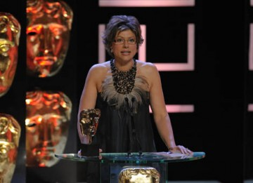 Broadcast Journalist Kate Silverton presented the Current Affairs category (BAFTA / Marc Hoberman).