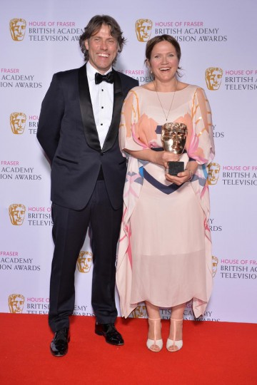 The BAFTA for Female Performance in a Comedy Programme in 2015 was presented by John Bishop to Jessica Hynes for her performance in W1A.