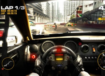 Race Driver: GRID accelerated ahead of the competition to claim the BAFTA in the Sports category (Codemasters Studios/Codemasters).