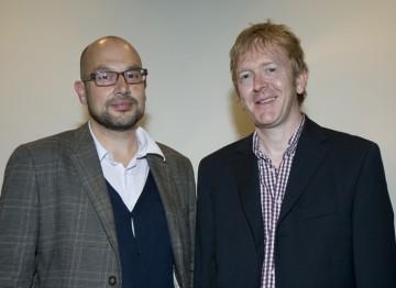 Producer Jaimie D' Cruz and Editor Chris King