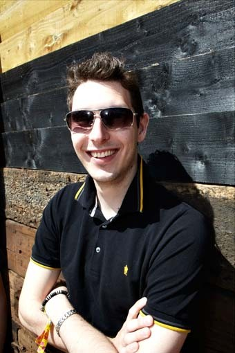 July 18: The Inbetweeners star Blake Harrison (Picture: Jonathan Birch)