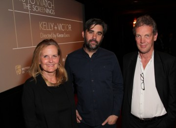 Deborah Kolar, Kieran Evans and Simon Gammell