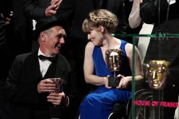 Leading Actor winner Mark Rylance chats with Don't Take My Baby's Ruth Madeley