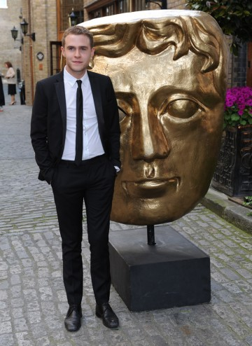English Actor Iain de Caestecker, star of Coronation Street and Lip Service arrives at the Television Craft Awards