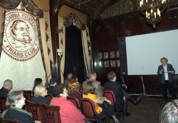 Screening of the four finalists for the BAFTA Situation Comedy Awards held at the Friars Club