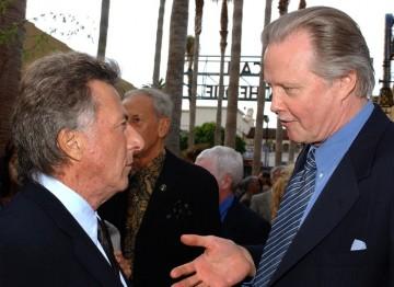Dustin Hoffman and Jon Voight