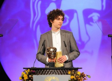 The Visual Effects BAFTA was presented by Red Riding star Robert Sheehan.
