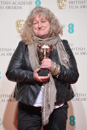 Winner of the Costume design award for Mad Max: Fury Road, Jenny Beavan