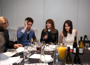 Eddie Redmayne, Jo Twist and Felicity Jones debate the Breakthrough Brits shortlist