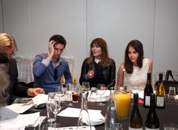 Eddie Redmayne, Jo Twist and Felicity Jones debate the Breakthrough Brits shortlist