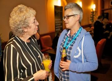 BAFTA members Mary Steventon and Belle Doyle
