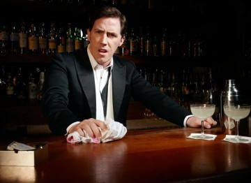 Rob Brydon poses for the Television Awards comedy photoshoot in 2010.