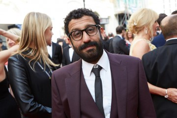 Supporting Actor nominee Adeel Akhtar on the red carper. Suit by House of Fraser