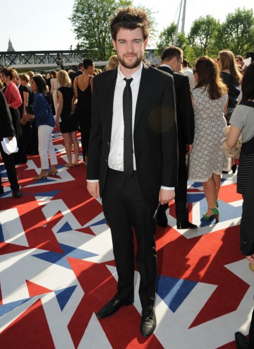 The comedian and star of Fresh Meat,  which is nominated for Situation Comedy and the YouTube Audience Award. Jack wears a Paul Smith suit.