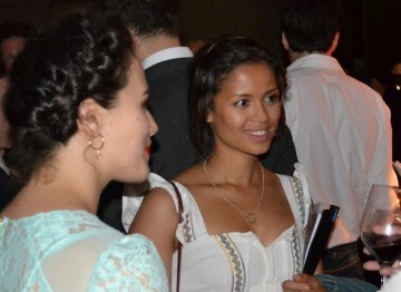 Gugu Mbatha-Raw and Jessica Brown Findlay