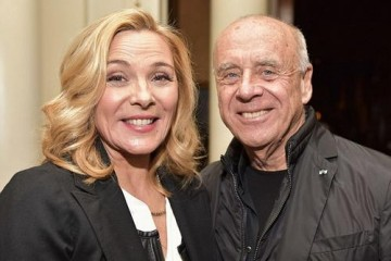 Kim Cattrall and Ralph Gibson.