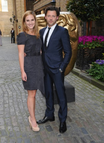 Bradley's big roles in 2012 included television movies Beauty And The Beast & comedy thriller Grabbers. She presents the Visual Effects Category. She's pictured here with boyfriend Richard Coyle.