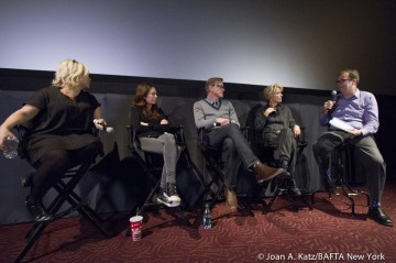 Producer Alison Owen, Producer Kelly Marcel, Emma Thompson, Director John Lee Thompson and Moderator Patrick Connolly