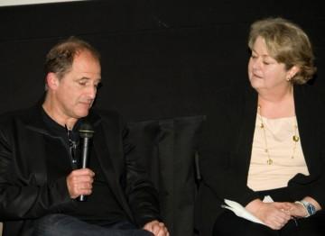 Director Michael Hoffman and BAFTA New York CEO Christina Thomas