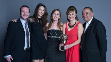 The team behind Dixi, winner of the Interactive Original category at the British Academy Children's Awards in 2014, presented by Katherine Mills