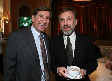 Christoph Waltz and BAFTA Los Angeles' Donald Haber