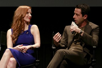 Jessica Chastain, Jeremy Strong