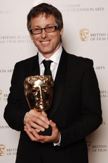 Anthony Mullins collected the Interactive Innovation - Content Award for Spooks Interactive (pic: BAFTA / Richard Kendal).
