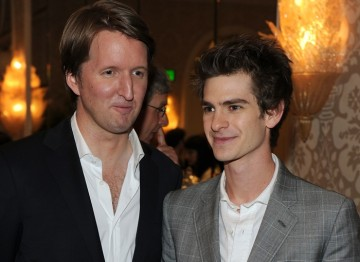 Tom Hooper (The King's Speech) and Andrew Garfield (The Social Network & Never Let Me Go)