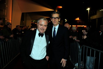 Jon Sessions and Peter Capaldi
