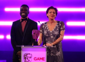 Ortis Deley and GAME's Lisa Morgan reveal who the public voted their favourite game of 2011.