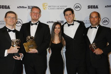 The BAFTA for Persistent Game was won by League of Legends and presented by actress Georgia May Foote.