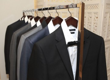 House of Fraser presents a line of beautifully cut suits and tuxedos, showcasing a selection of their menswear range.