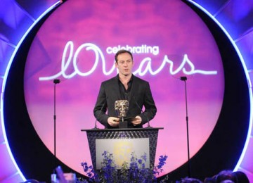 The award for Director Factual was presented by the BAFTA-nominated Harry Potter star Jason Isaacs (BAFTA / Richard Kendal).