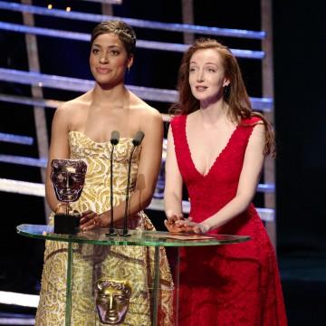 Presenters of the Mini Series award: Cush Jumbo & Olivia Grant
