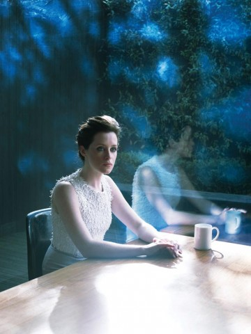 """Clare Foy photographed for """"Drama Ties"""", a photographic essay printed in the 2011 Television Awards programme."""