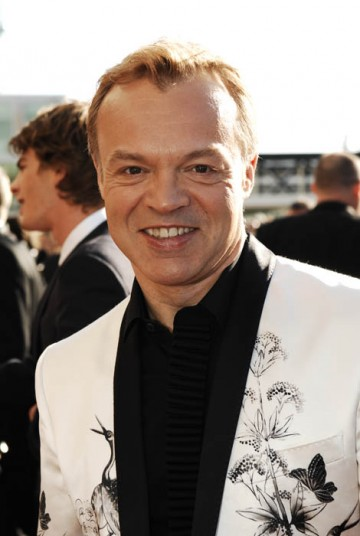 British Academy Television Awards host Graham Norton arrives at the Royal Festival Hall (BAFTA / Richard Kendal).